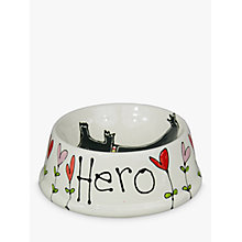 Buy Gallery Thea Personalised Dog Bowl Online at johnlewis.com