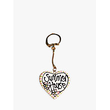 Buy Gallery Thea Personalised Heart Keyring Online at johnlewis.com