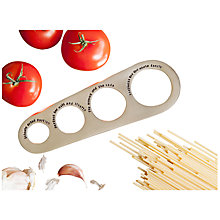 Buy Cutlery Commission Silver-Plated Personalised Spaghetti Measure Online at johnlewis.com