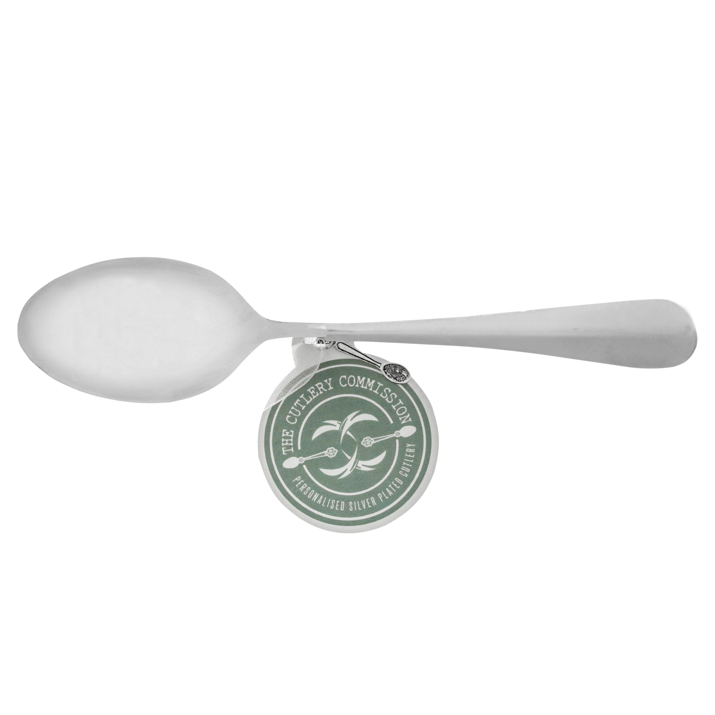 Cutlery Commission Cutlery Commission Silver-Plated Personalised Tea Spoons