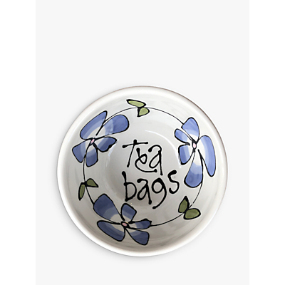 Image of Gallery Thea Pansy Teabag Dish
