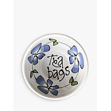 Buy Gallery Thea Pansy Teabag Dish Online at johnlewis.com