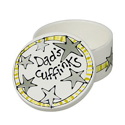 Gallery Thea Personalised Round Keepsake Box