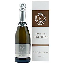 Buy Intervino 'Happy Birthday' Prosecco, 75cl Online at johnlewis.com