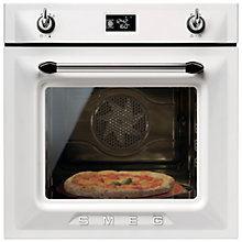 Buy Smeg SFP6925BPZE Built-In Single Electric Oven, White Online at johnlewis.com
