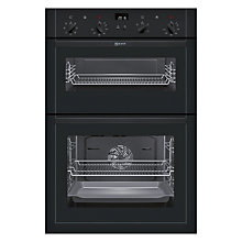 Buy Neff U14M42S5GB Built-In Double Electric Oven, Black Online at johnlewis.com