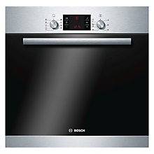 Buy Bosch HBA53R150B Integrated Single Oven, Stainless Steel Online at johnlewis.com
