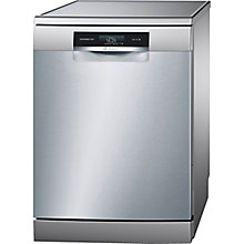 Buy Bosch SMS88TI26E Freestanding Dishwasher with Home Connect, Silver Online at johnlewis.com
