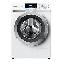 Buy Panasonic NA-168XR1WGB Freestanding Washing Machine, 8kg Load, A+++ Energy Rating, 1600rpm Spin, White Online at johnlewis.com