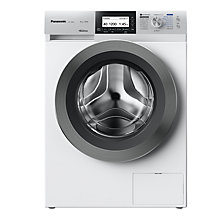 Buy Panasonic NA-168ZS1WGB Freestanding Washing Machine with Steam, 8kg Load, A+++ Energy Rating, 1600rpm Spin, White Online at johnlewis.com