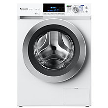 Buy Panasonic NA-148XS1WGB Freestanding Washing Machine with Steam, 8kg Load, A+++ Energy Rating, 1400rpm Spin, White Online at johnlewis.com