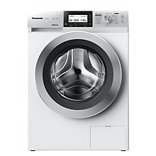 Buy Panasonic NA-140ZS1WGB Freestanding Washing Machine with Steam, 10kg Load, A+++ Energy Rating, 1400rpm Spin, White Online at johnlewis.com