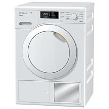 Buy Miele TMB140 WP Heat Pump Tumble Dryer, 7kg Load, A++ Energy Rating, White Online at johnlewis.com