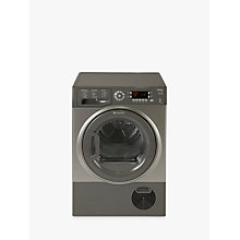 Buy Hotpoint Ultima SUTCD97B6GM Freestanding Tumble Dryer, 9kg Load, B Energy Rating, Graphite Online at johnlewis.com
