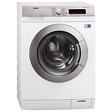 Buy AEG L87405FL Freestanding Washing Machine, 10kg Load, A+++ Energy Rating, 1400rpm Spin, White Online at johnlewis.com