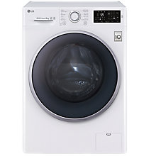 Buy LG FH4U2VDN1 Freestanding Washing Machine, 9kg Load, A+++ Energy Rating, 1400rpm Spin, White Online at johnlewis.com