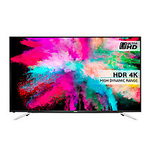 "Buy Hisense 65K5510 LED 4K Ultra HD Smart TV, 65"" With Freeview HD & Anyview Cast, Black Online at johnlewis.com"