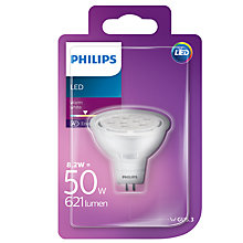 Buy Philips 8.2W LED GU5.3 MR16 Spotlight Bulb Online at johnlewis.com