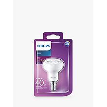 Buy Philips LED 2.9W SES LED Reflector R50 Light Bulb Online at johnlewis.com