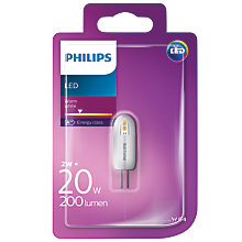 Buy Philips 2W G4 LED Capsule Non-Dimmable Bulb Online at johnlewis.com