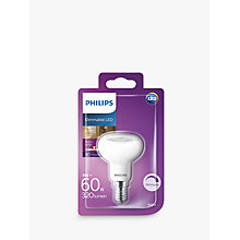 Buy Philips LED 5W SES R50 Dimmable Bulb Online at johnlewis.com