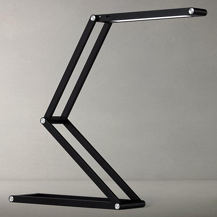 Buy John Lewis Xavier LED Table Lamp, Black Online at johnlewis.com