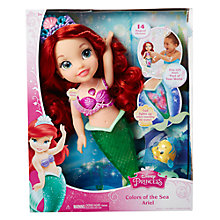 Buy Disney Princess Colours of the Sea Ariel Bath Toy Online at johnlewis.com