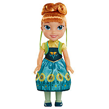 Buy Disney Princess Frozen Anna Toddler Doll Online at johnlewis.com