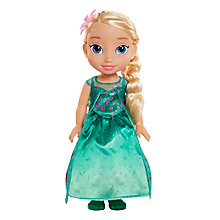 Buy Disney Princess Frozen Elsa Toddler Doll Online at johnlewis.com