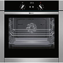 Buy Neff B44M42N5GB Slide and Hide Built-In Single Oven, Stainless Steel Online at johnlewis.com