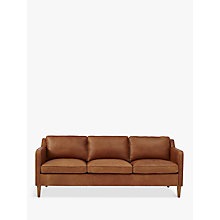 Buy west elm Hamilton 3 Seater Sofa, Sienna Online at johnlewis.com