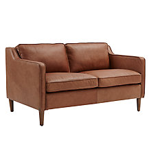 Buy west elm Hamilton 2 Seater Sofa, Sienna Online at johnlewis.com