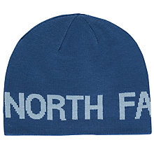 Buy The North Face Reversible Banner Beanie, One Size, Blue Online at johnlewis.com