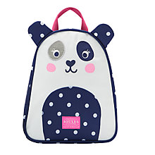 Buy Little Joule Children's Panda Rucksack, Blue Online at johnlewis.com