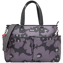 Buy Babymel Bella Changing Bag, Purple/Grey Online at johnlewis.com