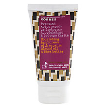Buy Korres Almond Oil & Shea Butter Hand Cream, 75ml Online at johnlewis.com