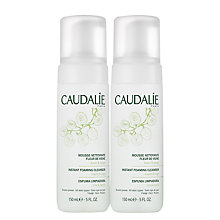 Buy Caudalie Instant Foaming Cleanser Duo Online at johnlewis.com