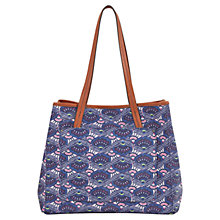 Buy White Stuff Flower Tote Bag, Multi Online at johnlewis.com