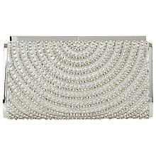 Buy Dune Ebella Clutch Bag, Silver Online at johnlewis.com