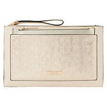 Buy Dune Essa Clutch Bag, Blush Online at johnlewis.com