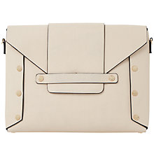 Buy Dune Ezzra Clutch Bag, Nude Online at johnlewis.com