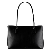 Buy Radley Gainsborough Large Leather Multi Tote Bag, Black Online at johnlewis.com