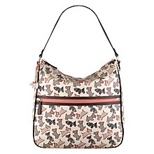 Buy Radley Fleet Street Large Hobo Bag, Ivory Online at johnlewis.com
