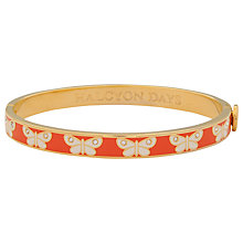 Buy Halcyon Days Butterfly Skinny Bangle Online at johnlewis.com