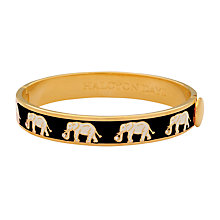Buy Halcyon Days Elephant Enamel Bangle Online at johnlewis.com