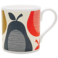 Buy Orla Kiely Pear Stripe Mug Online at johnlewis.com