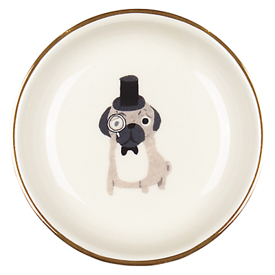 Image of Fenella Smith Pug Ring Plate