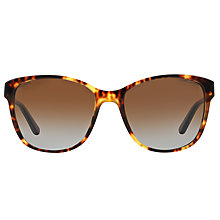 Buy Ralph Lauren RL8123 Polarised Wayfarer Sunglasses, Havana Online at johnlewis.com