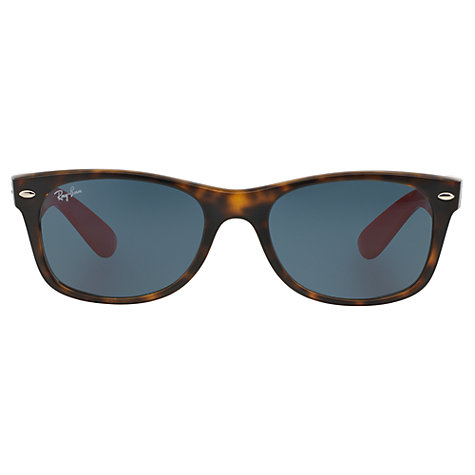 Ray Ban Wayfarer Navy Orange