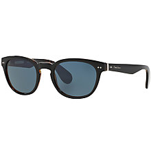 Buy Ralph Lauren RL8130P Polarised Oval Sunglasses Online at johnlewis.com